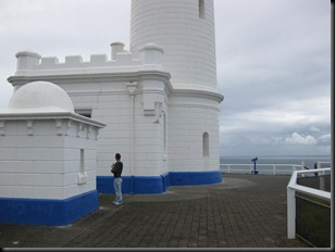 Cape Byron lighthouse and flagstorehouse