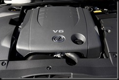 2009 Lexus IS 250C 2.5L V6 engine