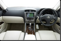 2009 Lexus IS 250C Sports Luxury interior