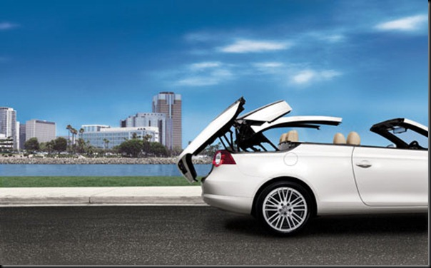 2010-Volkswagen-EOS roof folding