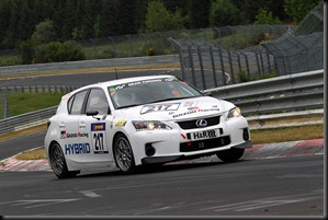 TOYOTA_Lexus LFA + CT Race 3. VLN  NürburgringDate: 14. May 2011