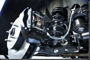 2008 Lexus IS F rear suspension