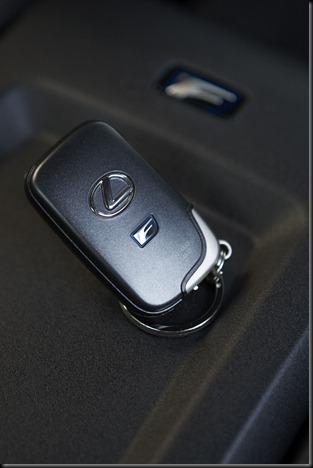 2008 Lexus IS F key
