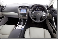 IS 350 Prestige interior