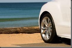 RCZ Pearl White Front Wheel
