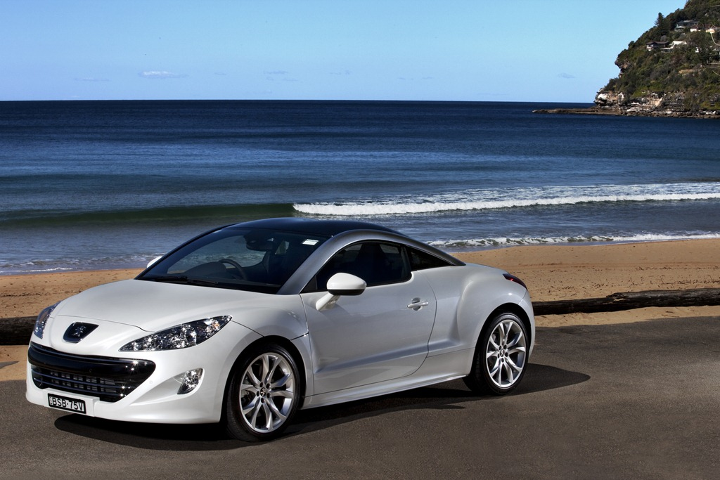 We Have The Peugeot Rcz In Pearl White This Week 147kw Of