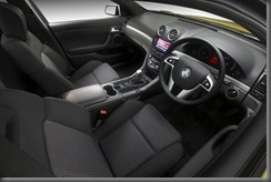 2011 Holden Commodore VE Series II SV6 Ute interior