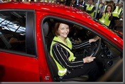 Series II Cruze launch - Prime Minister Julia Gillard