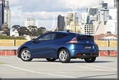 Honda CR-Z luxury rear