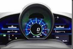 Honda CR-Z luxury speedo in normal mode