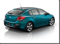 Holden Cruze Hatch Studio