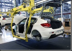 Holden Cruze Hatch Manufacturing