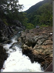 Kondalilla Falls - top of the main falls