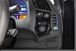 Honda CR-Z luxury dash buttons