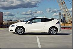 Honda CR-Z luxury side view