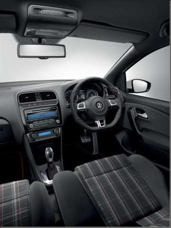 POLO GTi interior 2011