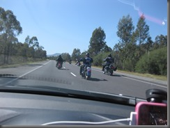 100 Rebels out for a ride Hume HWY (3)