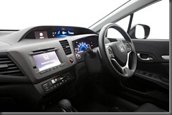 Honda Civic Series II dash Nav