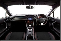 2012 Toyota 86 GTS interior