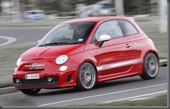 Abarth 500 Esseesse at ipswich