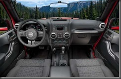 2011 Jeep Wrangler Interior