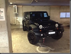 Jeep Wrangler Special Ops at home