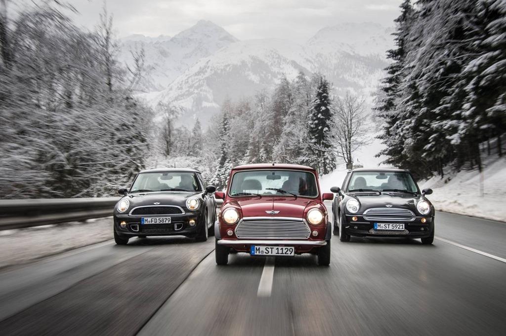 Three Generations Of Driving Fun The Mini Cooper And Mini