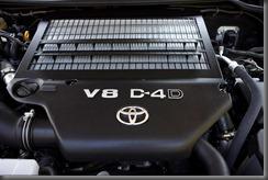 2007 Toyota LandCruiser 200 V8 turbo-diesel engine