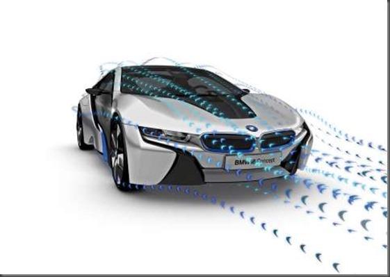 BMW i 8 front