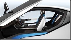 BMW i 8 seats