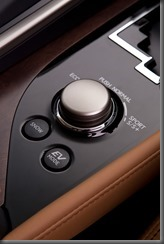 2012 Lexus GS 450h Sports Luxury drive mode selector (pre production model shown)