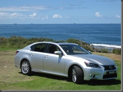 Lexus GS450h and f sport (2)