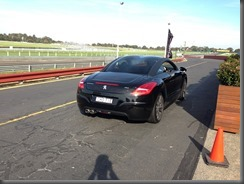 RCZ at Sandown Park (1)