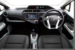 2012 Toyota Prius c i-Tech interior