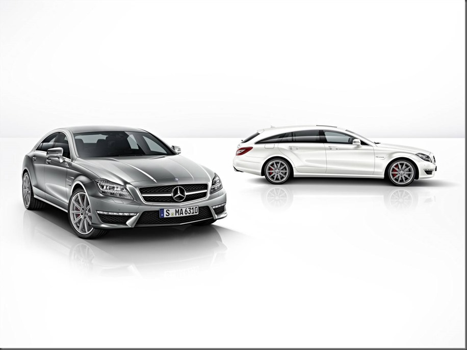 CLS 63 AMG and shooting brake