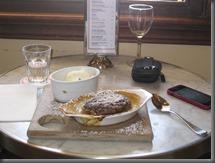 bouble baked chocolate souffle