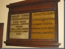 customs house directory board