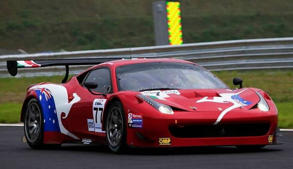 le mans asian series at fuji ferrari 458 gt3 comes in second gaycarboys com. Black Bedroom Furniture Sets. Home Design Ideas