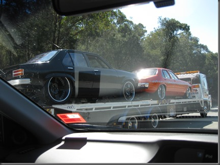 Torana and HQ Kingswood track cars