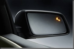 VF Holden Calais Blind Spot Warning