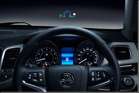 VF Holden Calais HUD Heads Up Display