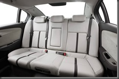 VF Holden Calais rear seat
