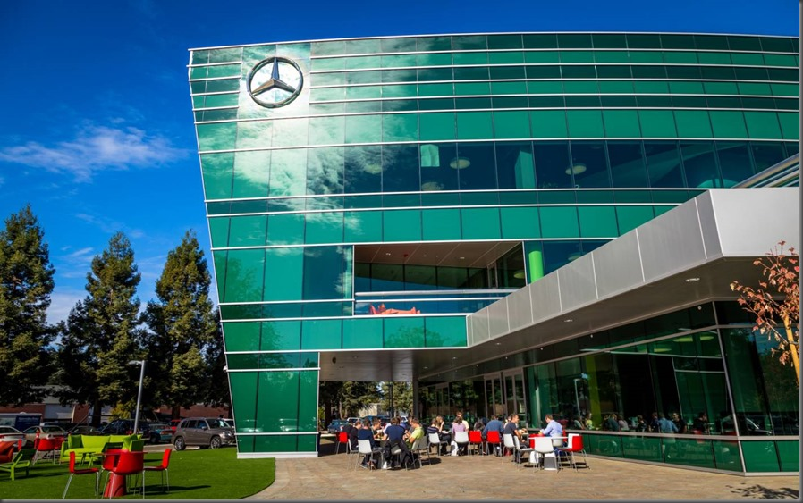 Grand opening of new mbrdna headquarters and mercedes benz for Mercedes benz north american headquarters