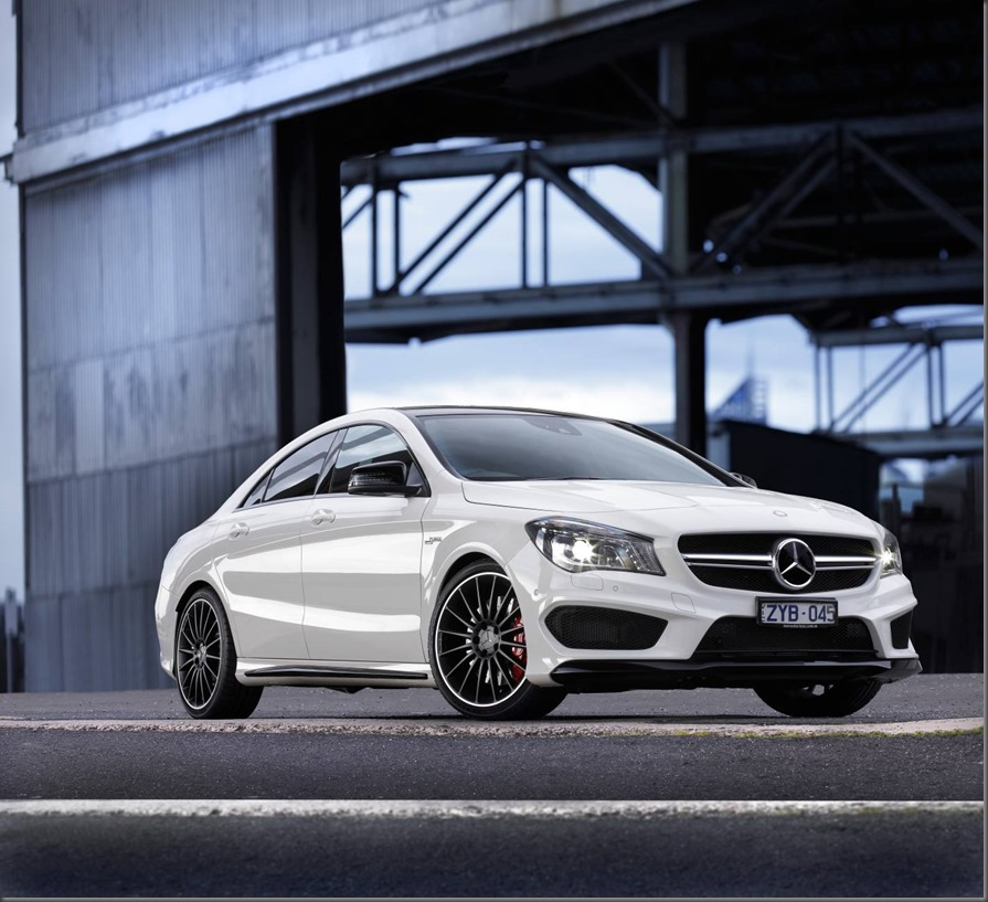 the mercedes benz cla 45 amg top gear magazine australia. Black Bedroom Furniture Sets. Home Design Ideas