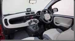 Fiat-Panda-dash with SATNAV installed