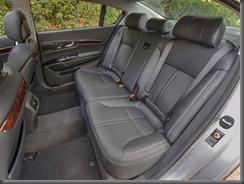 k900  rear seats