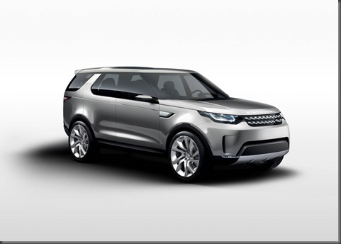 Land Rover's Discovery Vision Concept car at the New York International Motor Show (5)