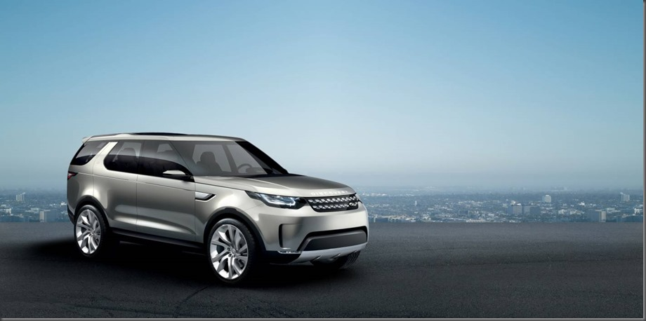 Land Rover's Discovery Vision Concept car at the New York International Motor Show (9)