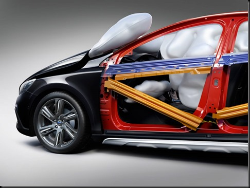 Volvo V40 Cross Country safety cell gaycarboys