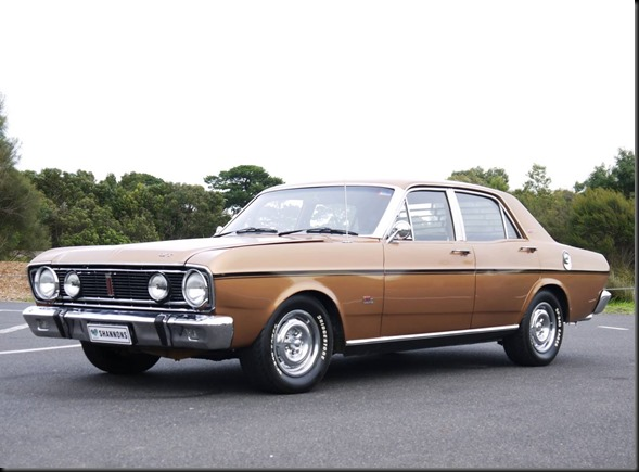 1968 Falcon XT GT 302 V8 four-speed manual shannons gaycarboys